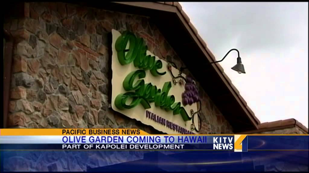 olive garden coming to hawaii youtube