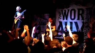 The Word Alive - Battle Royale live in Tucson, AZ 2013