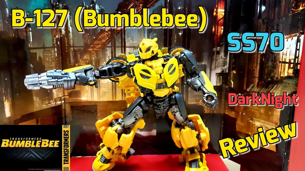 Transformers Studio Series B-127 (Bumblebee SS70) in Hand by DarkNight Reviews