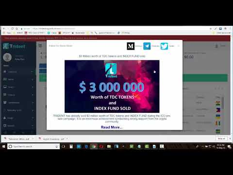 Trident Crypto Fund   Hindi Video   How to create your FREE Account and Fund using Bitcoin
