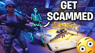 TWO Scammers had me SHOOK 😳 after saying this.. 😦 (Scammer Get Scammed) Fortnite Save The World