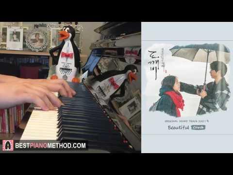 "Goblin [도깨비 OST Part 4] - ""Beautiful"" - Crush (크러쉬) (Piano Cover By Amosdoll) [+SHEET MUSIC]"