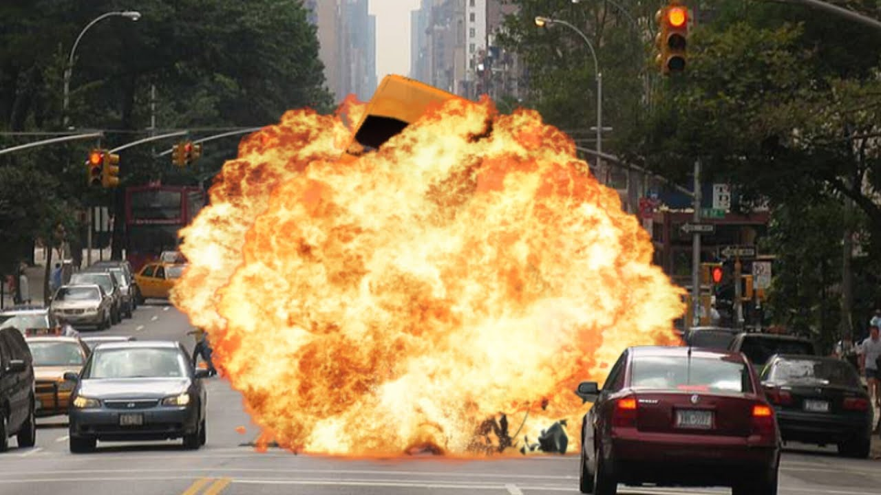Car Bomb Explosion In New York With After Effects