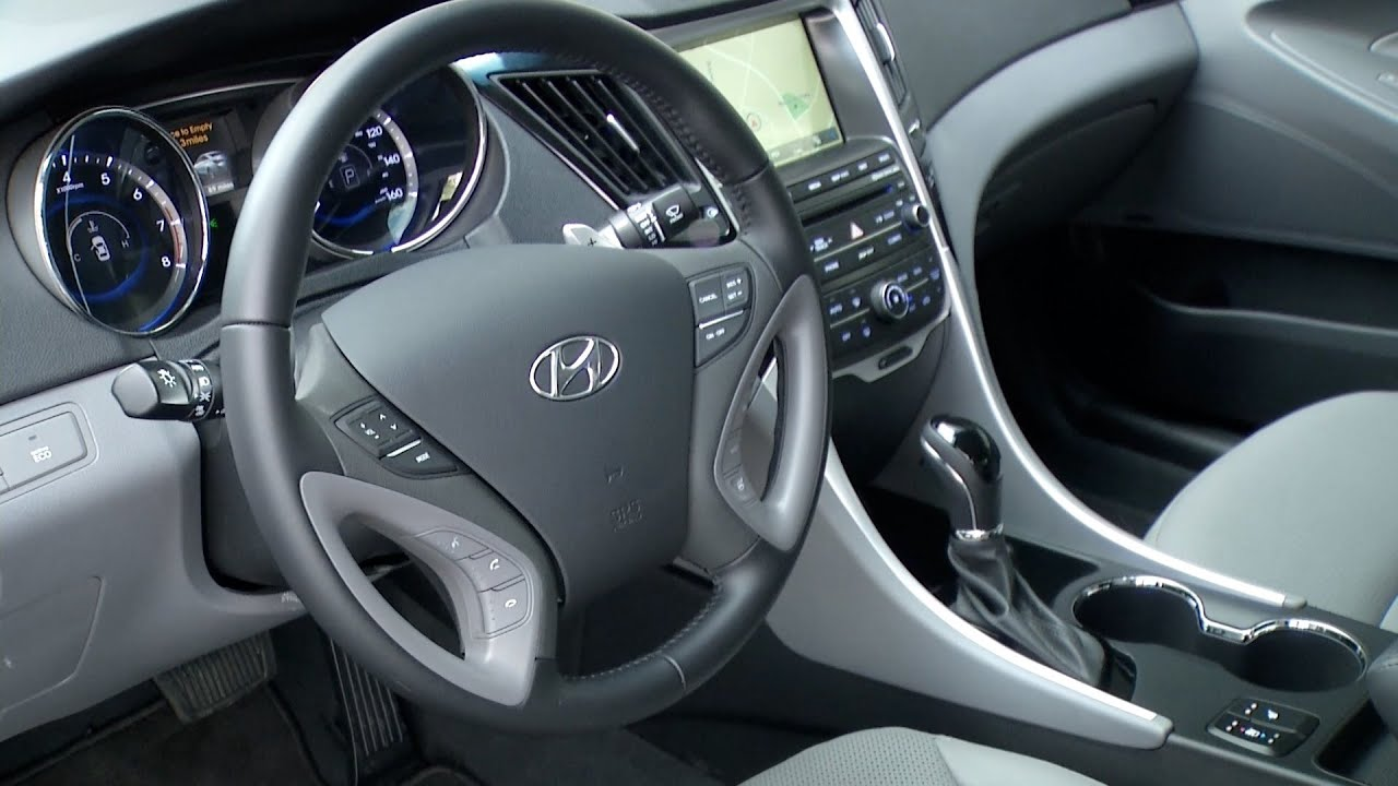 Lovely 2014 Hyundai Sonata ▻ INTERIOR   YouTube Images