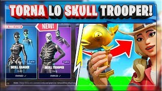 SKULL TROOPER NELLO SHOP HALLOWEEN! + NEWS MYTHIC GOLDFISH! (FORTNITE CAPITOLO 2)
