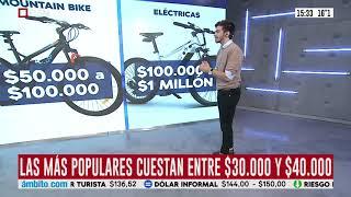 Boom de ventas de bicicletas