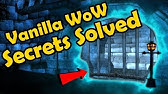 Vanilla WoW Secrets Solved, As Well as Other Facts About WoWs Early Design