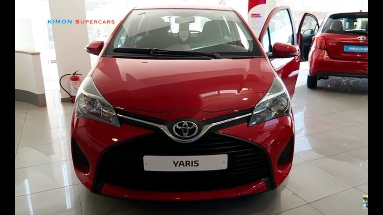 Yaris 2017 Review >> NEW 2017 Toyota Yaris - Exterior and Interior - YouTube