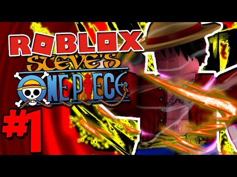 MY FIRST DEVIL FRUIT IN ROBLOX'S NUMBER 1 ANIME GAME! | Roblox: Steve's One Piece - Episode 1