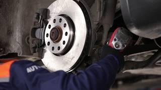Substituição Bieleta de barra estabilizadora VW PASSAT: manual técnico