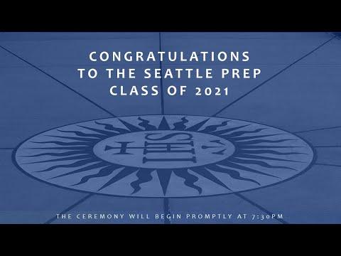 Seattle Preparatory School Class of 2021 Graduation