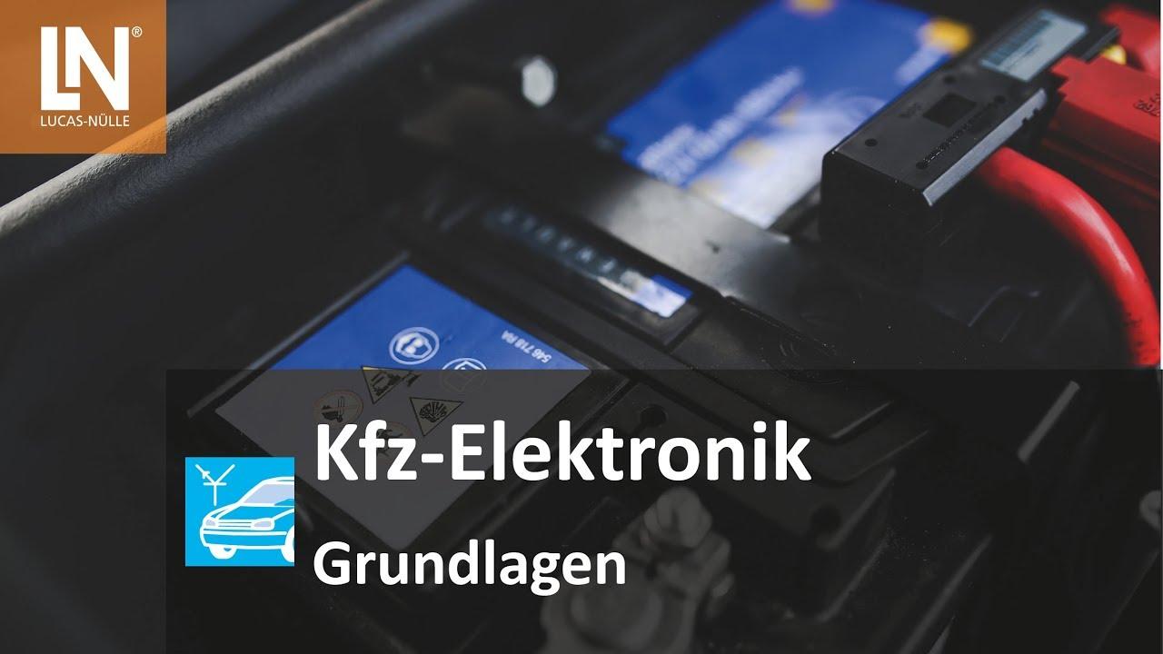 Großzügig Autoelektrik Erklärt Ideen - Verdrahtungsideen - korsmi.info