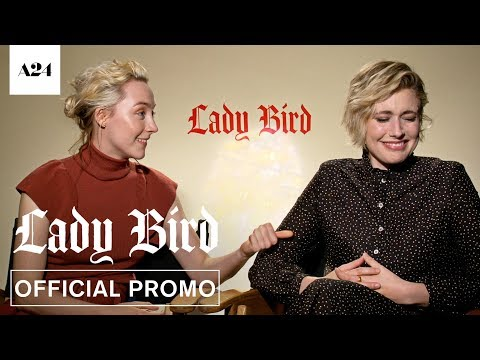 Download Youtube: Lady Bird | Greta and Saoirse Callout Bloopers | Official Promo HD | A24