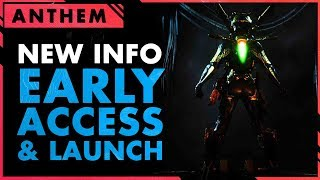 Baixar Anthem Developer Stream New Launch Day & Early Access INFO