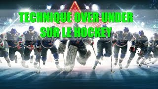comment bien parier sur le nombre de buts au hockey sur glace ( methode over under hockey )