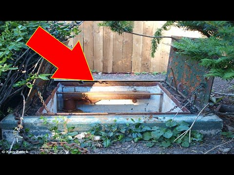 Wisconsin Family Discovers Fully-stocked Fallout Shelter In Their Back Yard 50 Years After It Was..