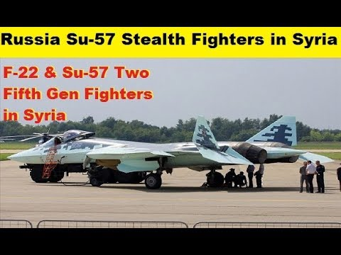 Russia Su-57 Fifth Gen Stealth Fighters in Syria, Demonstrate True Operations.