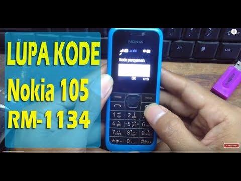 NOKIA TA 1034 LUPA KODE PENGAMAN -  SOLUSI LUPA KODE NOKIA 105 TA 1034 - TOOLS GRATIS.