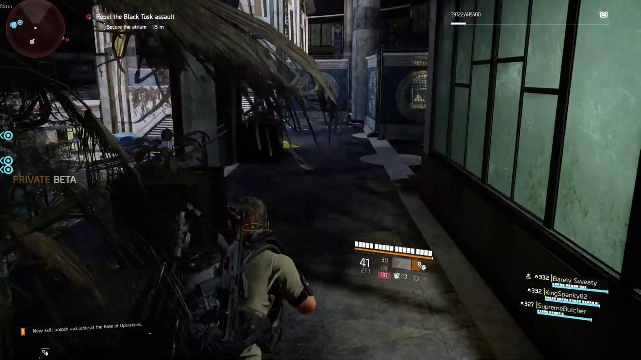 division 2 sound bug