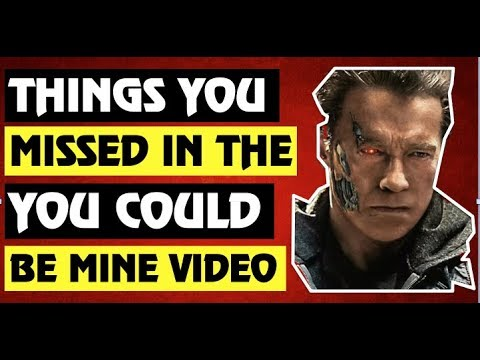 Guns N' Roses  Things You Missed In The You Could Be Mine Video!