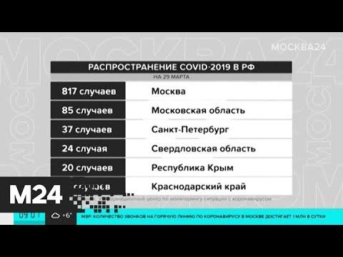 В России коронавирус за сутки подтвердился у 228 человек - Москва 24