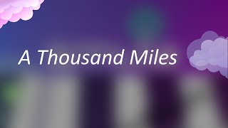 Vanessa Carlton - A Thousand Miles (Magic Piano by Smule)