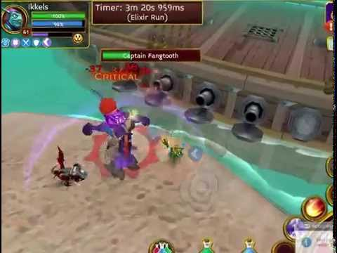 Arcane Legends - Level 41 Mage Solo Elite Kraken Maps