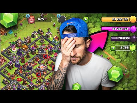 So... I SPENT TOO MUCH MONEY In CLASH Of CLANS