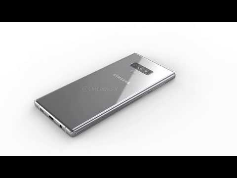 Samsung Galaxy Note 9: 360 renders  EXCLUSIVE