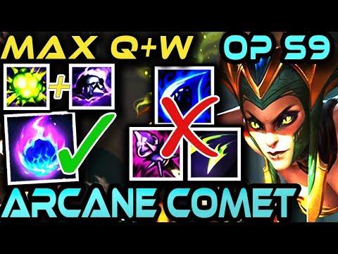 [BROKEN OP] CASSIOPEIA - ARCANE COMET | NO TEAR Or RoA | SEASON 9 Guide | Build + Gameplay | Zoose