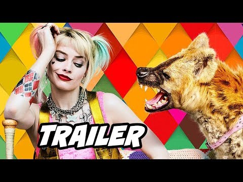 Birds Of Prey Trailer - Joker and Batman Easter Eggs Breakdown