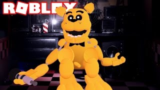 GOLDEN FREDDY IN THE SCARY ELEVATOR ROBLOX! UPDATE