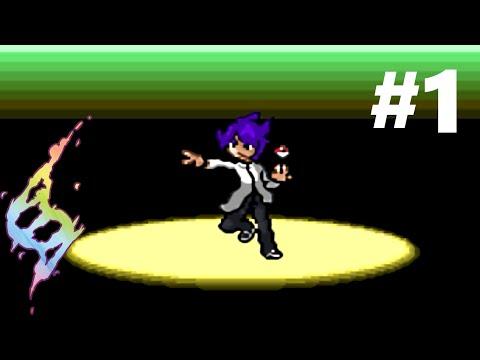 Pokemon Mega Power (Beta 3.1) Walkthrough Part 1 - I'm a Pokemon Professor?!