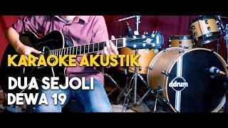 (Pianocoustic) Dewa 19 - Dua Sejoli akustik gitar karaoke HD lirik tanpa vocal