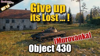 WoT: Object 430, Murovanka, 9k dmg, 10 kills, WORLD OF TANKS