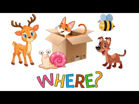 Learn animals for Kids | Educational video for kids & toddlers