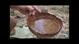 Primitive Technology: Filtered dirty water