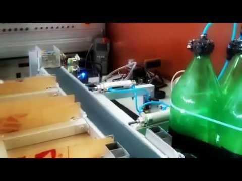 [ Electrical Education ] Miniatur Pemisah Balok dengan Menggunakan Kendali Mini PLC