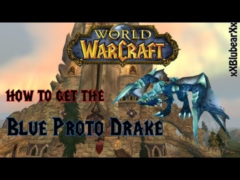 Wow - How to get the Blue Proto Drake Rare Mount  - Easy Solo Guide!