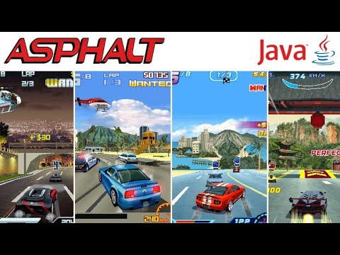 All Asphalt Games In Java Mobile