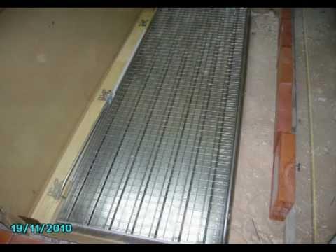 Montaje puerta empotrada en obra puerta corredera - Estructuras para puertas correderas ...