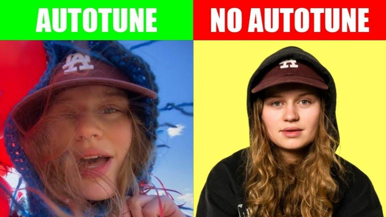 GILR IN RED - SEROTONIN   AUTOTUNE VS NO AUTOTUNE
