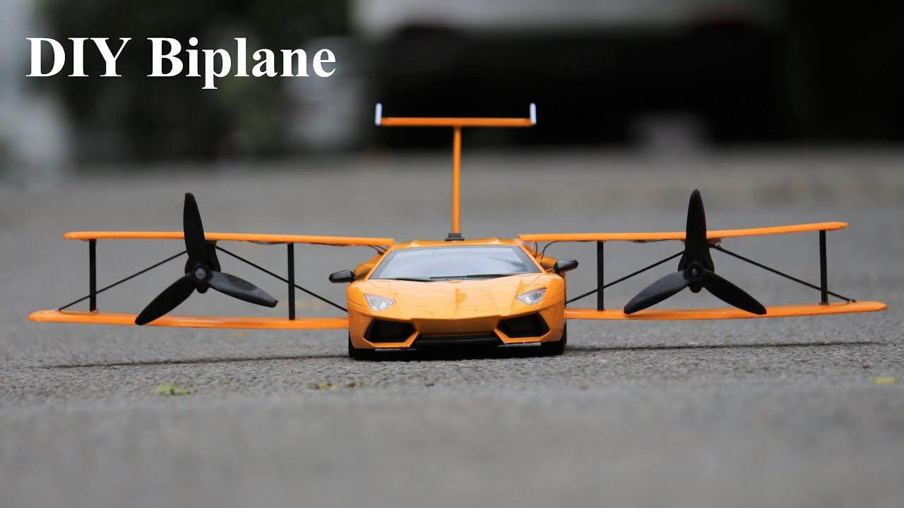 How to make a Aeroplane Car - Airplane - Biplane Car - Lamborghini