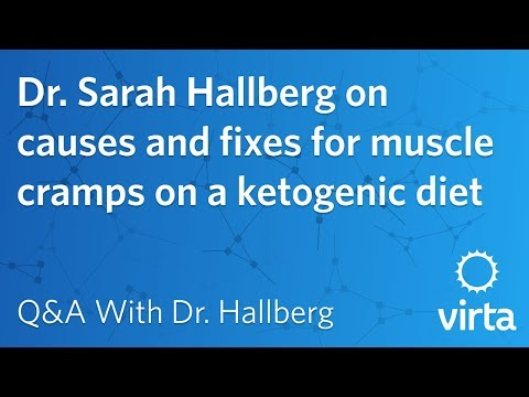 Dr. Sarah Hallberg on causes and fixes for muscle cramps on a ketogenic diet