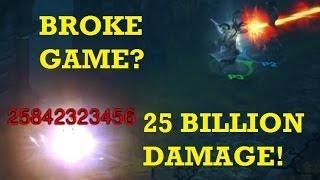 25 BILLION damage! Is Diablo 3 for console broken? (hacking / modding in multiplayer)