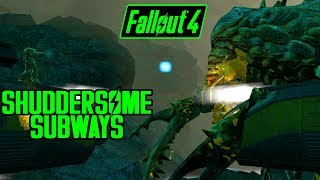 Fallout 4 - Shuddersome Subways - Unique Enormous Mirelurk Queen! - Xbox & PC Quest Mod