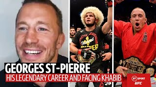Georges St-Pierre on facing Khabib Nurmagomedov and his path to GOAT status!