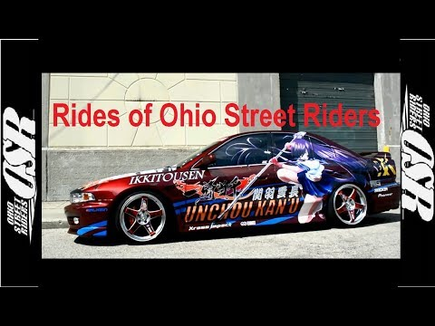 Ohio Street Riders Presents, Itasha, 4G Eclipse, Turbo335i