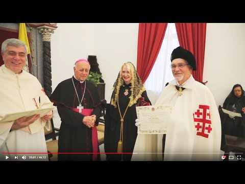 Equestrian Order of the Holy Sepulchre - Eastern Lieutenancy - in the Holy Land