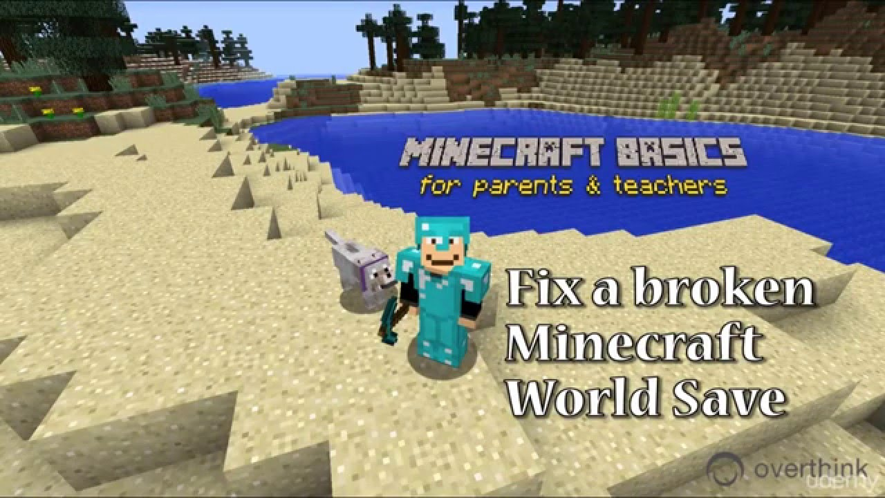 How to fix a corrupted Minecraft World   Overthink